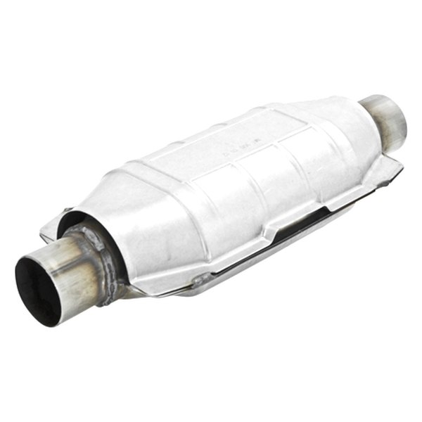 "Flowmaster® - 225 Series Stainless Steel Catalytic Converter (Oval, 2.25"" Inlet / 2.25"" Outlet, 16"" Length)"