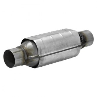 "Flowmaster® - 282 Series OBDII Universal Fit Round Body Catalytic Converter (2.25"" ID, 2.25"" OD, 16"" Length)"
