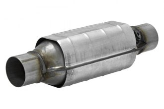 Flowmaster® - 282 Series Stainless Steel OBDII Round Catalytic Converter