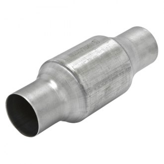 Flowmaster® - 283 Series OBDII Stainless Steel Catalytic Converter (Round, 2.5 Inlet / 2.5 Outlet, 10.5 Length)