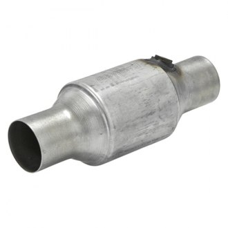 Flowmaster® - 283 Series OBDII Stainless Steel Catalytic Converter (Round, 2.25 Inlet / 2.25 Outlet, 10.5 Length)