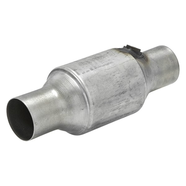 "Flowmaster® - 283 Series OBDII Stainless Steel Catalytic Converter (Round, 2.5"" Inlet / 2.5"" Outlet, 10.5"" Length)"