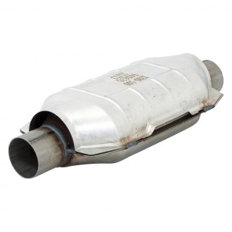 "Flowmaster® - 3940 Series OBDII Stainless Steel Oval Catalytic Converter (2.25"" Inlet / 2.25"" Outlet, 17"" Length)"