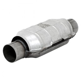 "Flowmaster® - 3940 Series OBDII Stainless Steel Oval Catalytic Converter (2.5"" Inlet / 2.5"" Outlet, 14.25"" Length)"
