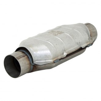 "Flowmaster® - 3982 Series Pre-OBDII Stainless Steel Oval Catalytic Converter (3"" Inlet / 3"" Outlet, 16.5"" Length)"