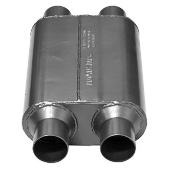 Flowmaster® - 40 Series Oval Black Exhaust Muffler
