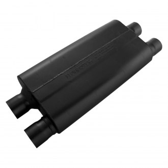 Flowmaster® - 80 Series Cross-Flow™ Oval Black Exhaust Muffler