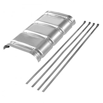 Flowmaster® - Aluminum Heat Shield Kit For 50 Series Big Block Muffler
