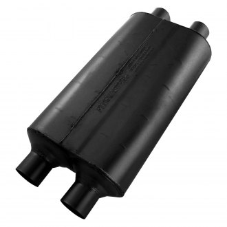 Flowmaster® - Super 50 Series Delta Flow™ Oval Black Exhaust Muffler