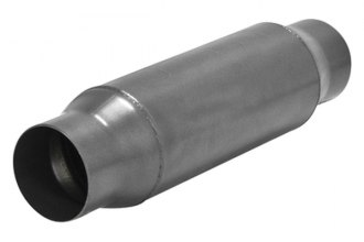 "Flowmaster® 815435 - Outlaw™ Stainless Steel Race Muffler (Aggressive Sound, 3.5"" Inlet / 3.5"" Outlet)"
