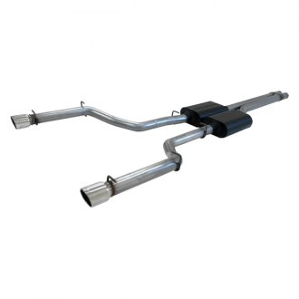 Flowmaster® - American Thunder™ Stainless Steel Cat-Back Exhaust System (Dual Rear Exit)