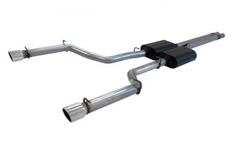 Flowmaster® 817498 - American Thunder™ Stainless Steel Dual Cat-Back Exhaust System (Dual Rear Exit)