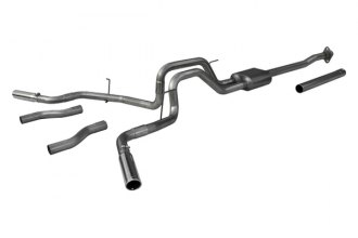 Flowmaster® 817522 - American Thunder™ Stainless Steel Dual Cat-Back Exhaust System (Moderate Sound)