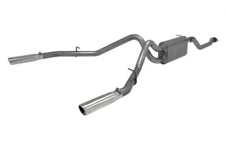 Flowmaster® - American Thunder™ Stainless Steel Dual Cat-Back Exhaust System