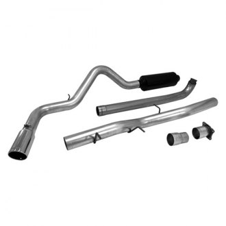 Flowmaster® - Force II™ Stainless Steel Cat-Back Exhaust System (Single Side Exit)