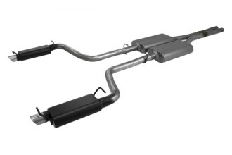 Flowmaster® 817543 - Force II™ Stainless Steel Dual Cat-Back Exhaust System (Dual Rear Exit)