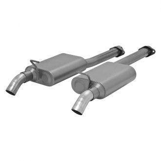Flowmaster® - American Thunder™ Stainless Steel Cat-Back Exhaust System (Dual Out Dumps Exit)