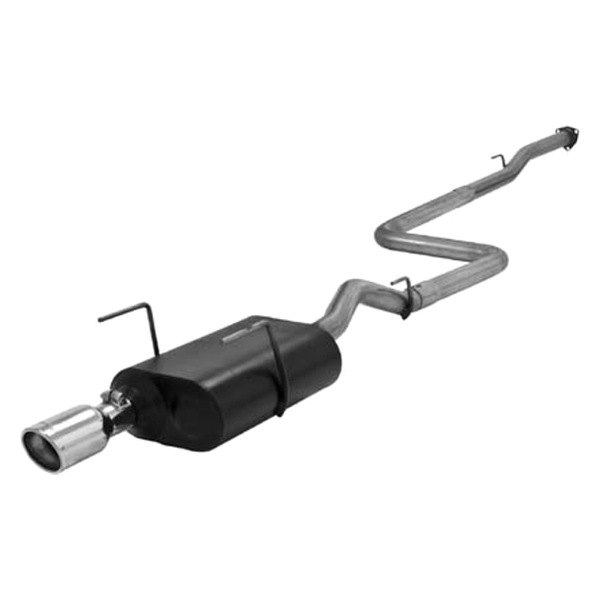 Flowmaster® - American Thunder™ Stainless Steel Cat-back Exhaust System (Single Rear Exit)