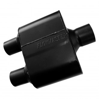 Flowmaster® - Super 10 Series Delta Flow™ Oval Black Exhaust Muffler
