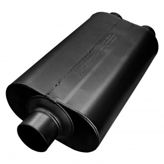 "Flowmaster® - Super 50 Series Delta Flow™ (SUV) 409 Stainless Steel Muffler (3"" Center Inlet / 2.5"" Dual Outlet)"