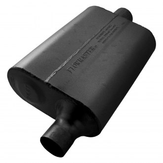 Flowmaster® - 40 Series Delta Flow™ Oval Black Exhaust Muffler