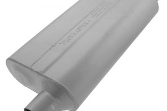 "Flowmaster® - 50 Series Delta Flow™ Aluminized Steel Muffler (Moderate Sound, 2.5"" Offset Inlet / 2.5"" Offset Outlet Same Side)"