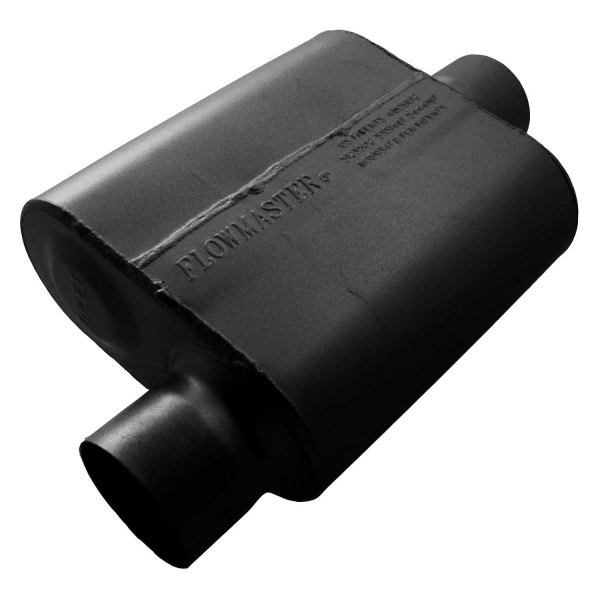 Single chamber muffler flowmaster