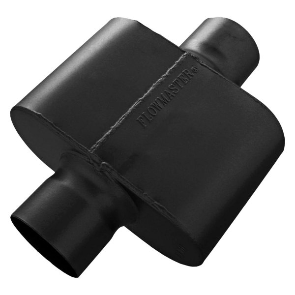 """... Delta Force™ 409 SS Single Chamber Muffler (3"""" Inlet / 3"""" Outlet"""