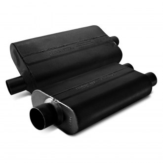Flowmaster® - 50 Series Delta Flow™ Oval Black Exhaust Muffler