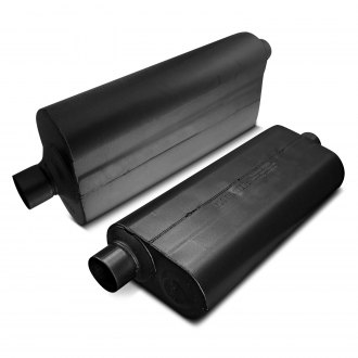 Flowmaster® - 70 Series Delta Flow™ Oval Gray Exhaust Muffler