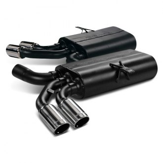 Flowmaster® - 80 Series Cross-Flow™ Oval Gray Exhaust Muffler