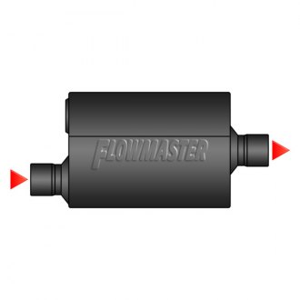 FLOWMASTER® - Offset Inlet Center Outlet Muffler
