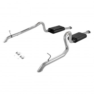 Flowmaster® - Force II™ Aluminized Steel Dual Cat-Back Exhaust System