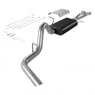 Flowmaster® - Force II™ Single Cat-Back Exhaust System with Single Side Exit
