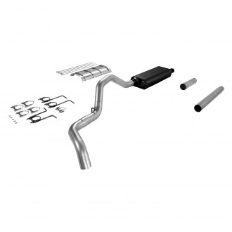 Flowmaster® - Force II™ Aluminized Steel Single Cat-Back Exhaust System with Single Side Exit