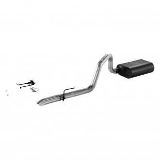 Flowmaster® - Force II™ Aluminized Steel Single Cat-Back Exhaust System with Single Rear Exit