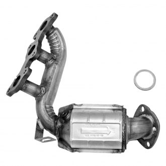 Flowmaster® - Standard Grade Stainless Steel Exhaust Manifold Converter with Ceramic Substrate