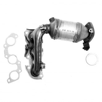 Flowmaster® - Standard Grade Front Stainless Steel Exhaust Manifold Converter with Ceramic Substrate