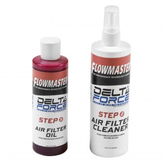 Flowmaster® - Delta Force® Air Filter Cleaning Kit Squeeze (12 oz Cleaner, 8 oz Oil)