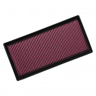 "Flowmaster® - Delta Force™ Oiled Panel Red Air Filter (16.063"" BOL x 8"" BOW x 1.125"" H)"