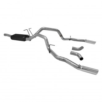 Flowmaster® - Force II™ Stainless Steel Dual Cat-Back Exhaust System with Split Rear/Side Exit