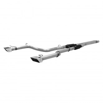 Flowmaster® - Outlaw™ Stainless Steel Dual Cat-Back Exhaust System with Split Rear Exit