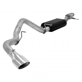 Flowmaster® - Force II™ Stainless Steel Single Cat-Back Exhaust System with Single Side Exit