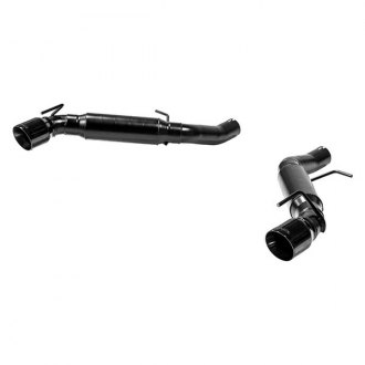 Flowmaster® - Outlaw™ 409 SS Dual Axle-Back Exhaust System with Split Rear Exit