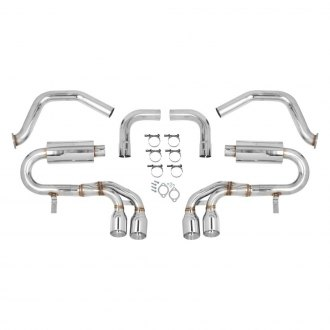 Flowtech® - 304 SS Axle-Back Exhaust System