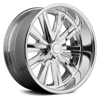 FOOSE® - ASCOT K.O. 3PC Bolted Chrome with Spinner Cap
