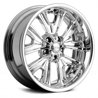 FOOSE® - FISHTAIL 3PC Bolted Chrome