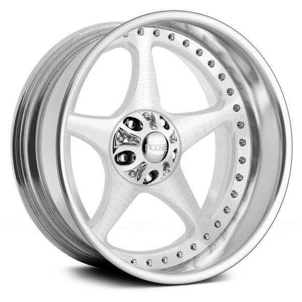 Foose Wheels on Foose Five00 Brushed Foose