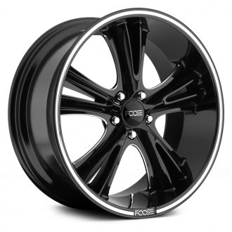 FOOSE® - KNUCKLE BUSTER Black with Milled Groove