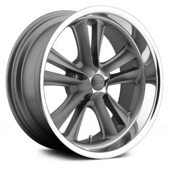 FOOSE® - KNUCKLE Textured Gray with Diamond Cut Lip